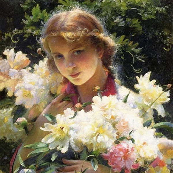 Oil Painting Reproductions of Charles Courtney Curran