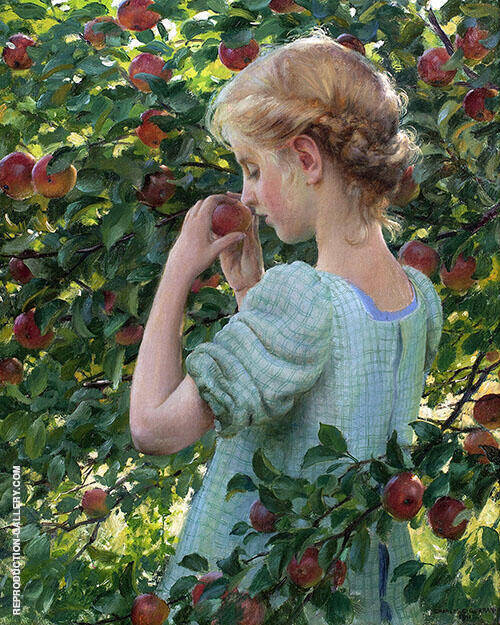 Scent of The Apple By Charles Courtney Curran