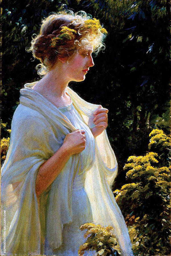 Seeking The Ideal By Charles Courtney Curran
