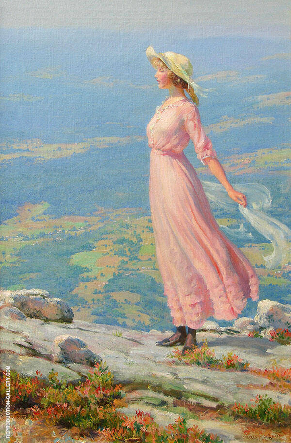 September Breeze 1916 By Charles Courtney Curran