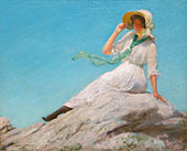 Sunny Morning By Charles Courtney Curran