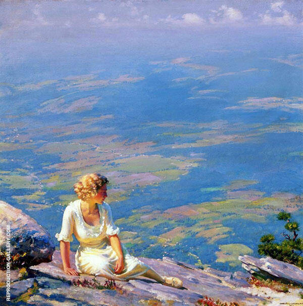 Sunshine and Haze 1915 By Charles Courtney Curran