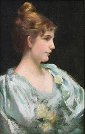The Artist's Wife By Charles Courtney Curran