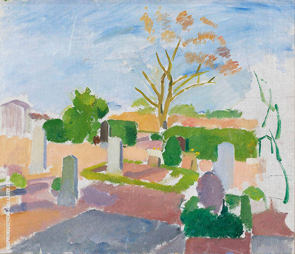 Graveyard Christians c1911 By Karl Isakson