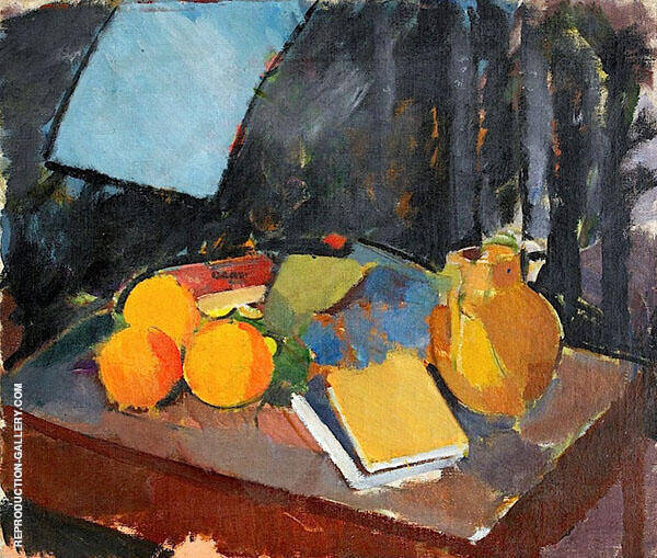 Still Life From The Studio By Karl Isakson