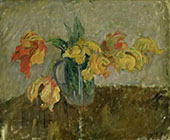 Parrot Tulips 1909 By Karl Isakson