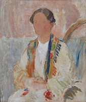 Portrait of Marie Syberg By Karl Isakson