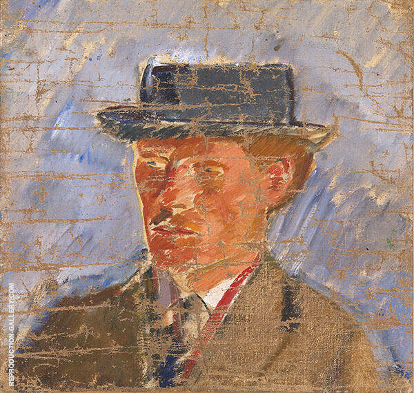 Portrait of The Painter Edvard Weie By Karl Isakson