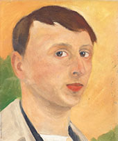 Self Portrait By Karl Isakson
