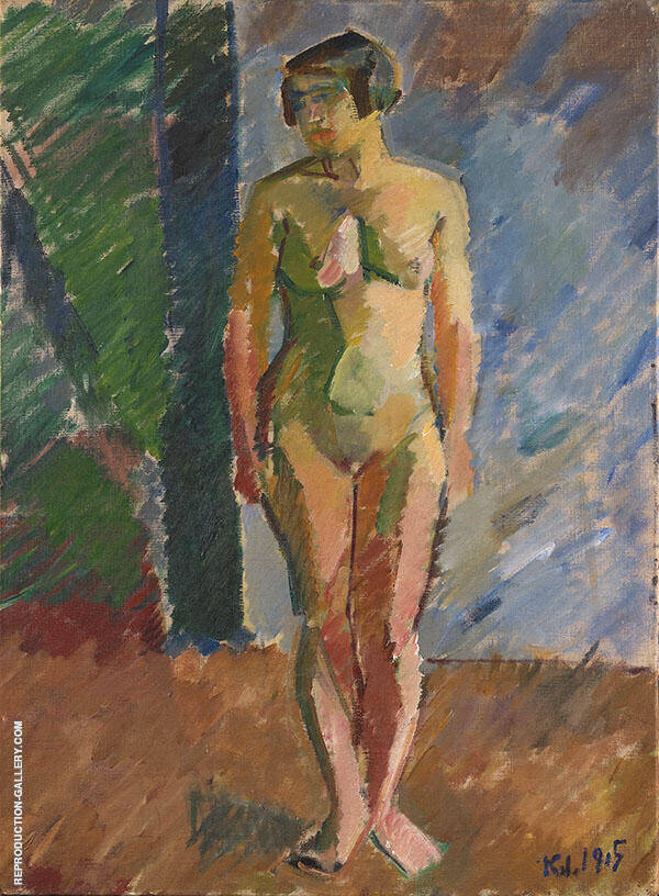 Standing Model 1915 By Karl Isakson