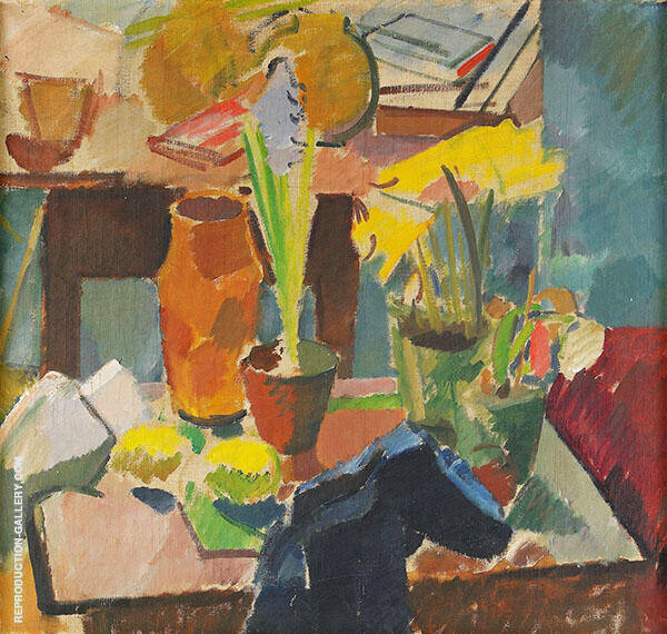 Still Life 1918 By Karl Isakson