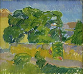 The old Priest Garden 1911 By Karl Isakson