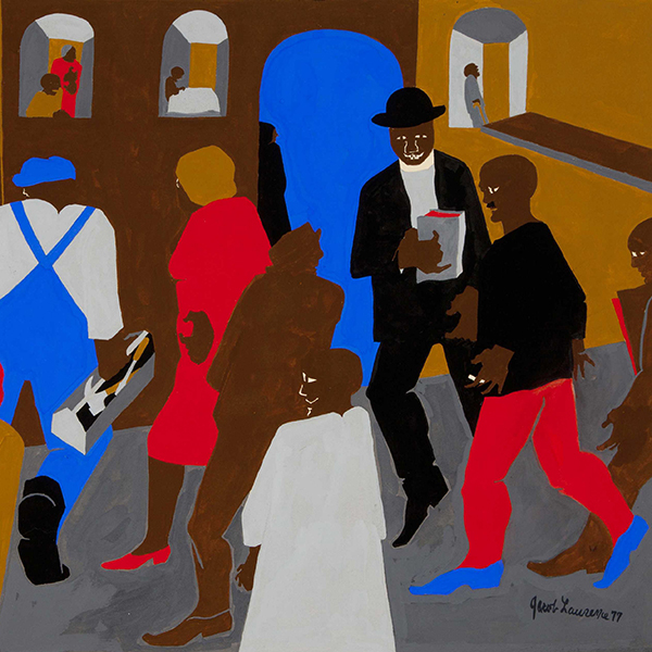 Oil Painting Reproductions of Jacob Lawrence