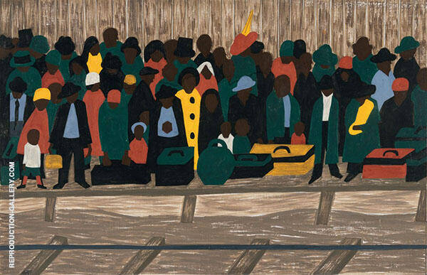 And The Migrants Kept Coming 1941 By Jacob Lawrence