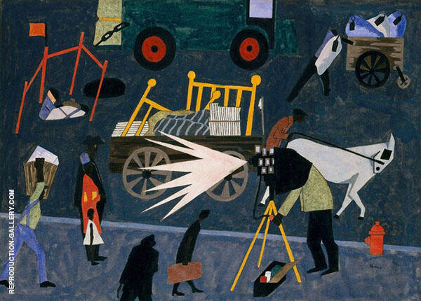 The Photographer 1942 By Jacob Lawrence