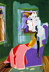 They Dreams No 2 1965 By Jacob Lawrence