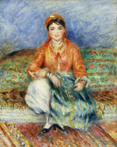 Algerian Girl 1881 By Pierre Auguste Renoir