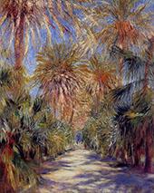 Algiers The Garden of Essai 1881 By Pierre Auguste Renoir