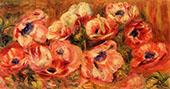 Anemones II By Pierre Auguste Renoir
