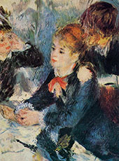 At The Milliners 1876 By Pierre Auguste Renoir