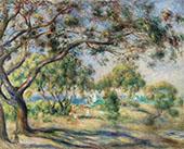 Bois de la Chaise By Pierre Auguste Renoir