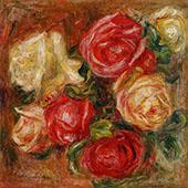 Bouquet of Flowers By Pierre Auguste Renoir