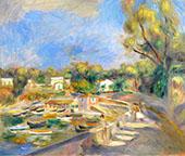 Cagnes Landscape 1910 By Pierre Auguste Renoir