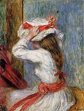 Childs Head By Pierre Auguste Renoir
