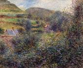 Environs of Berneval By Pierre Auguste Renoir