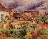 Essoyes Landscape 1894 By Pierre Auguste Renoir
