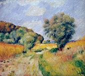 Fields of Wheat 1885 By Pierre Auguste Renoir