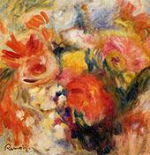 Flower Study 1913 By Pierre Auguste Renoir