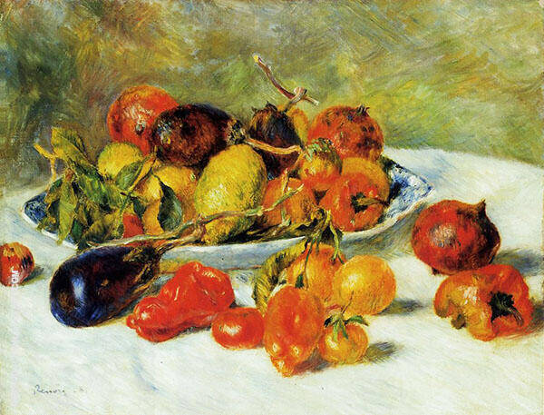 Fruits of The Midi 1881 By Pierre Auguste Renoir