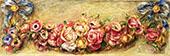 Garland of Roses 1910 By Pierre Auguste Renoir