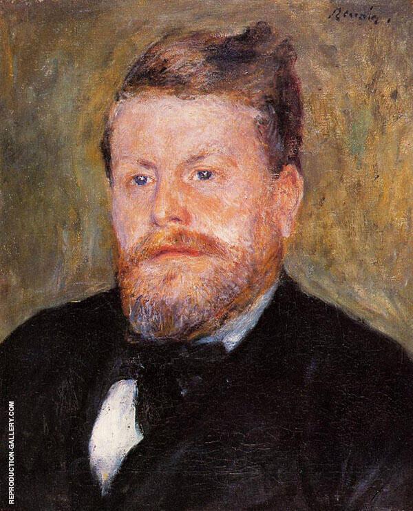 Jacques Eugene Spuller 1871 By Pierre Auguste Renoir