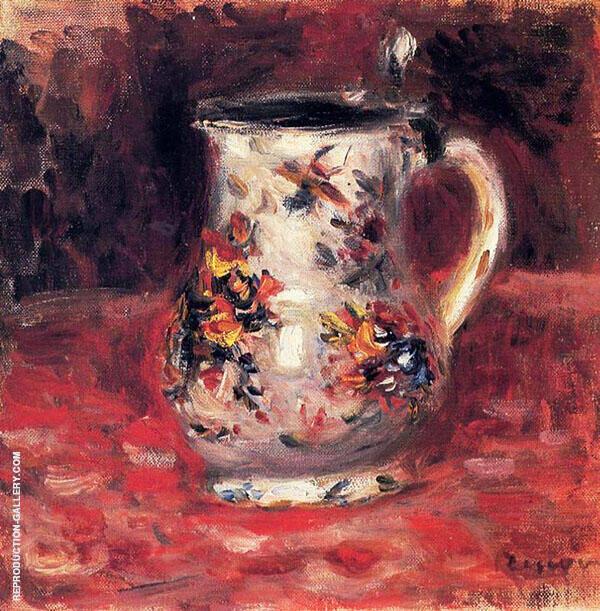 Jug By Pierre Auguste Renoir