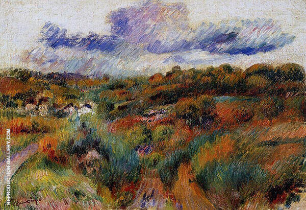 Landscape 1893 By Pierre Auguste Renoir
