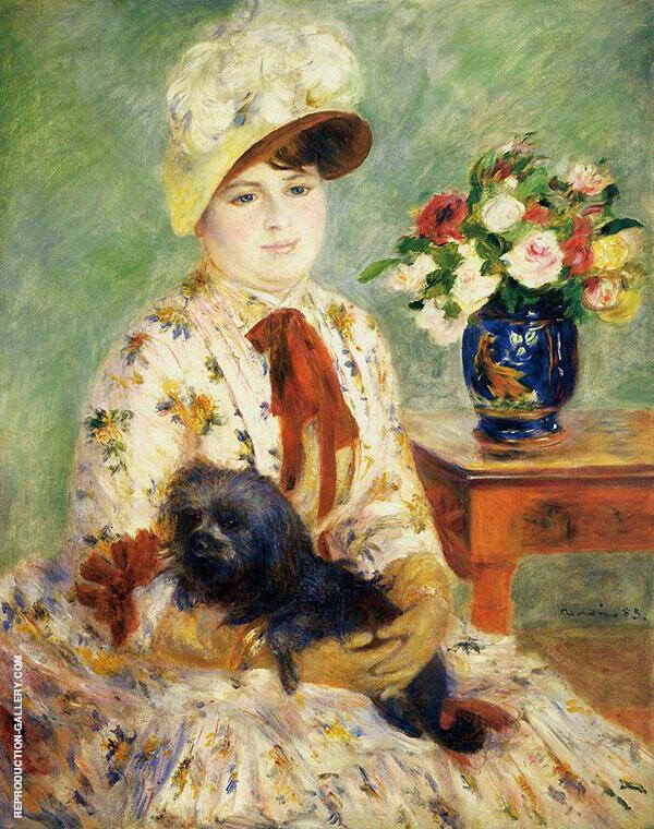 Madame Hagen 1883 By Pierre Auguste Renoir