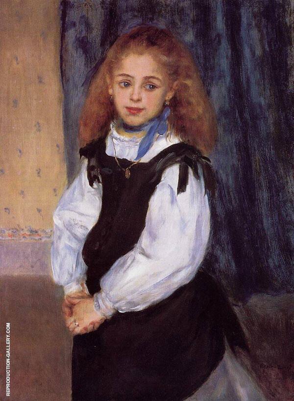 Mademoiselle Legrand 1875 By Pierre Auguste Renoir