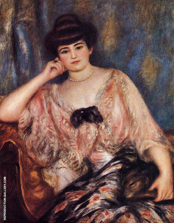 Misia 1904 By Pierre Auguste Renoir