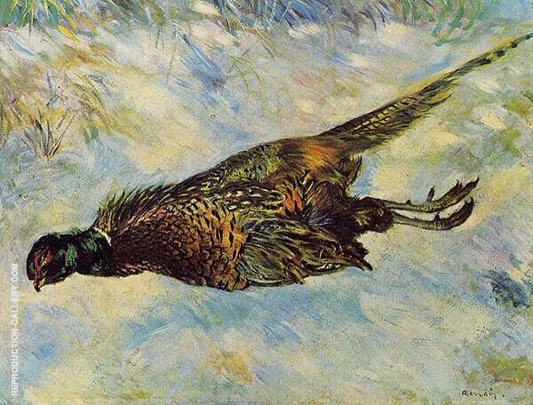 Pheasant in The Snow 1879 By Pierre Auguste Renoir