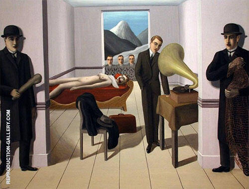 The Threatened Assassin 1926 By Rene Magritte