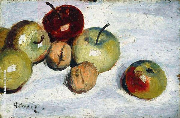 Apples and Walnuts c1919 By Pierre Auguste Renoir