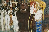 Forces of Evil 1902 By Gustav Klimt