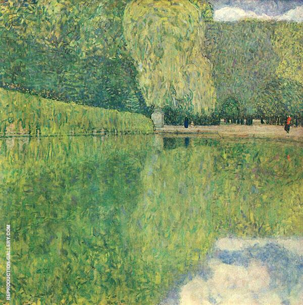 Schonbrunner Park 1916 By Gustav Klimt