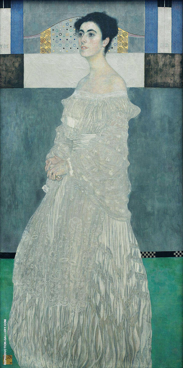 Portrait of Margaret Stonborough-Wittgenstein 1882 By Gustav Klimt