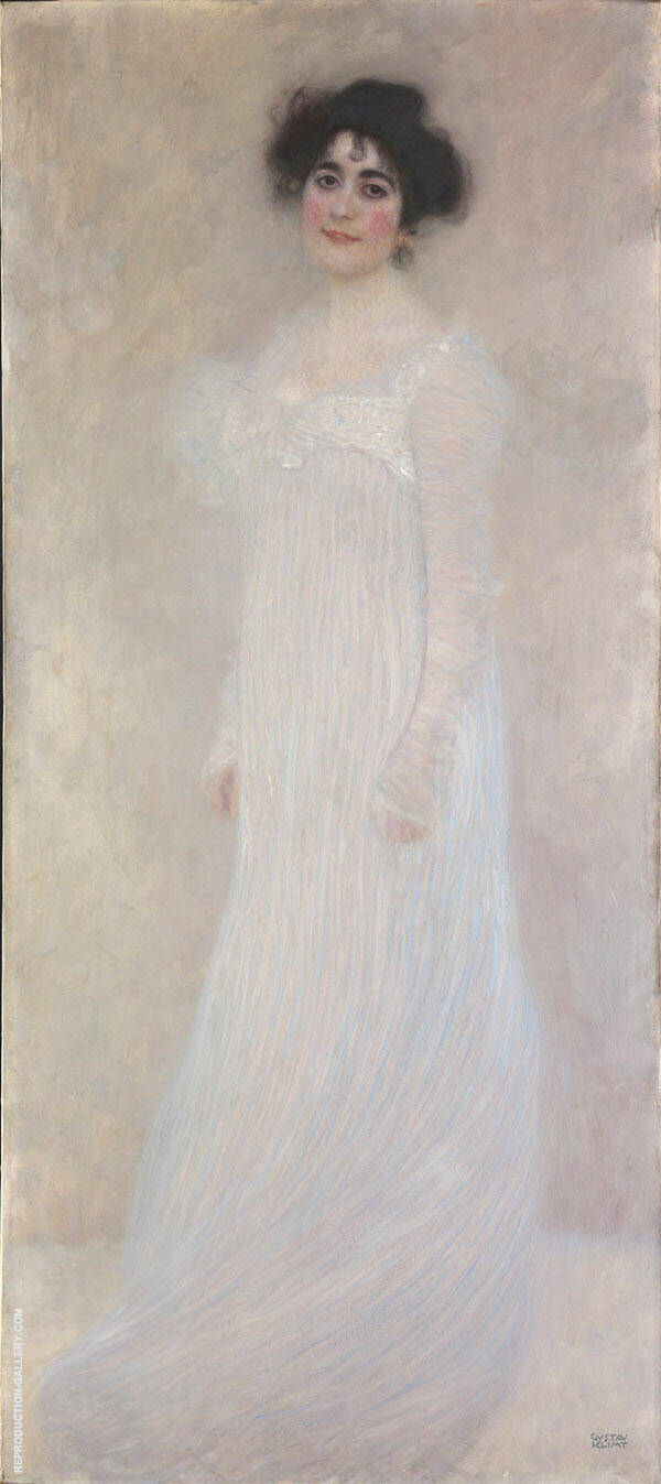 Portrait of Serena Lederer 1899 By Gustav Klimt