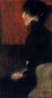 Portrait of a Lady 1897 By Gustav Klimt