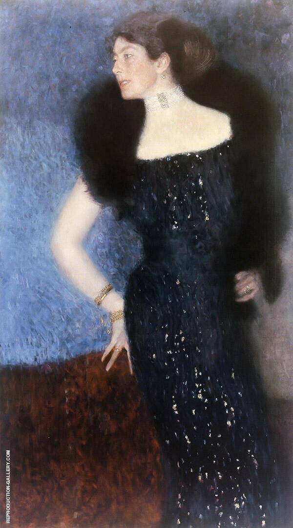 Portrait of Rose von Rosthorn Friedmanc1900 By Gustav Klimt