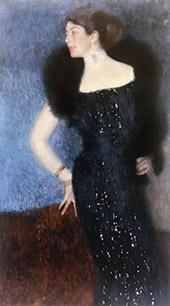 Portrait of Rose von Rosthorn Friedmanc1900 By Gustav Klimt